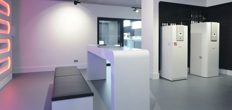 showroom warmtepomp installateur