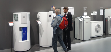 Stiebel Eltron showroom warmtepompen